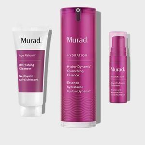MURAD skin Hydration Essentials set moisturizer